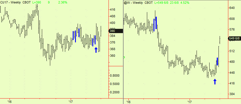 Corn & Wheat weekly comps