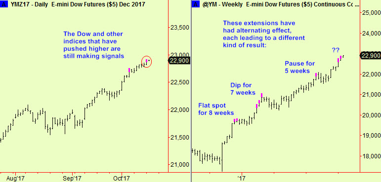 Dow dly & wkly top