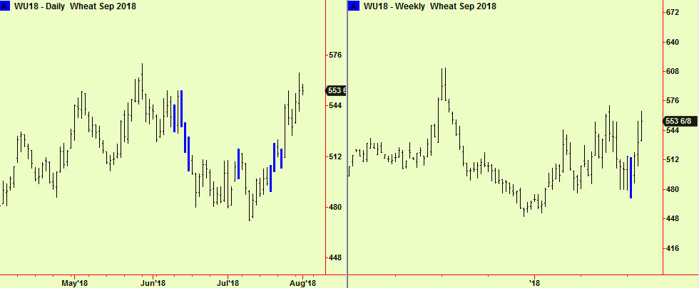 Wheat comps update